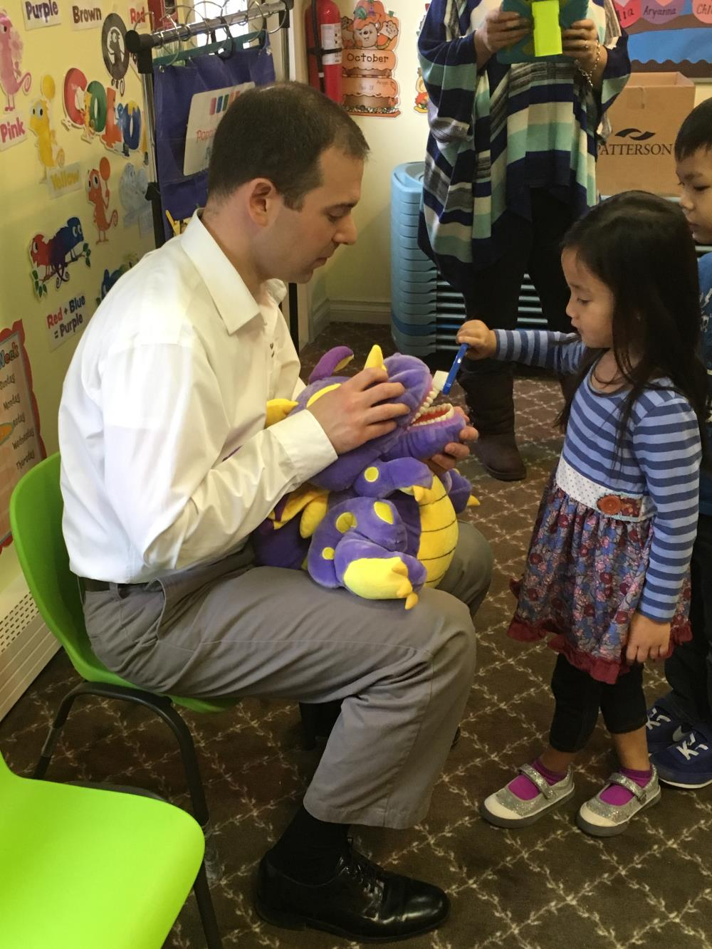 Special Guest Teaches Dental Hygiene at Love Laugh Learn Academic Child Care